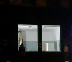 Linda at window